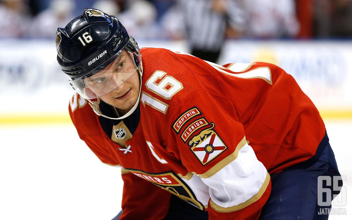 Panthers-kapteeni Barkov on Leijonien olympiajoukkueessa odotetusti.
