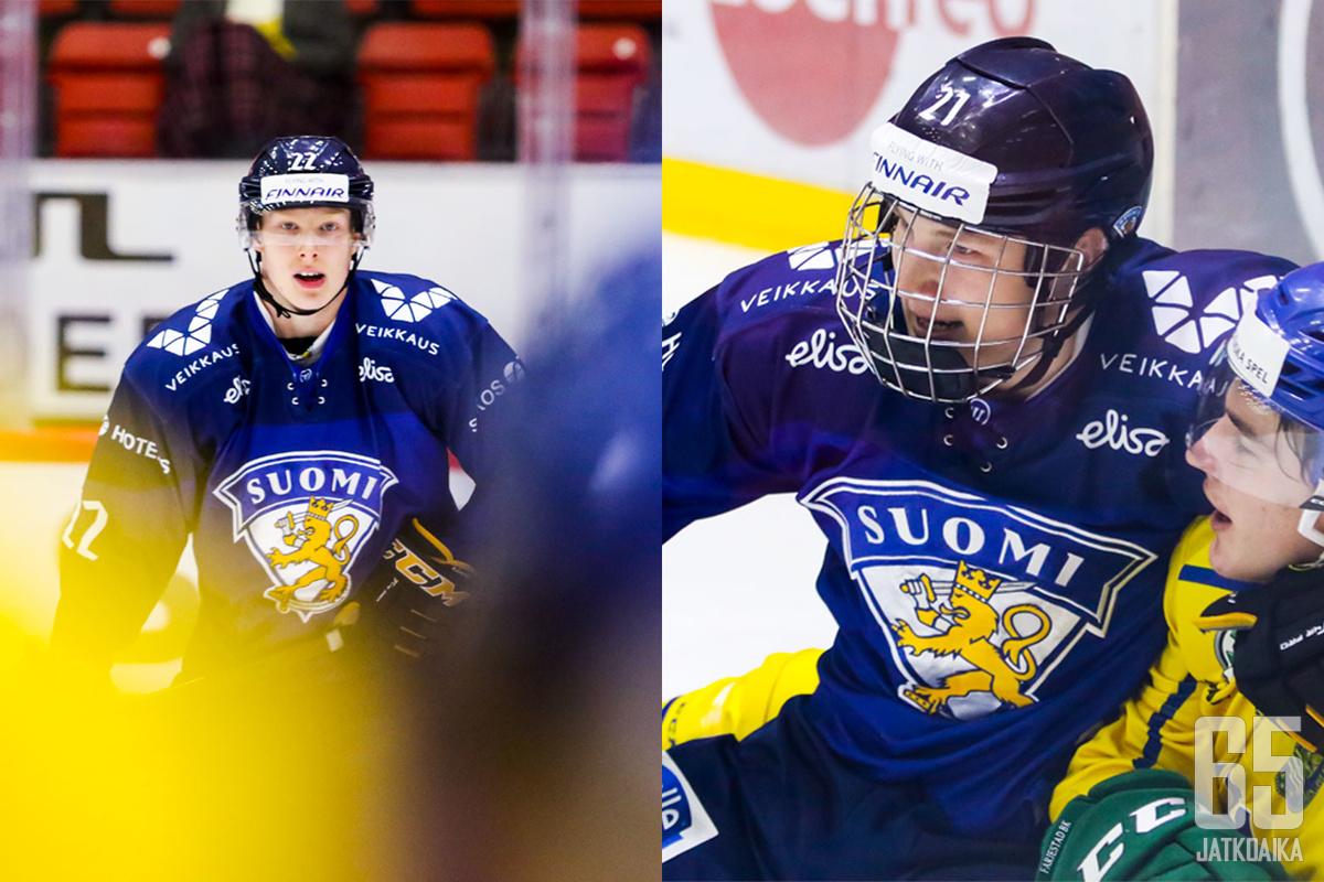 Aatu ja Aku Räty vastasivat valtaosasta Suomen tehoista Helsingin-turnauksessa.