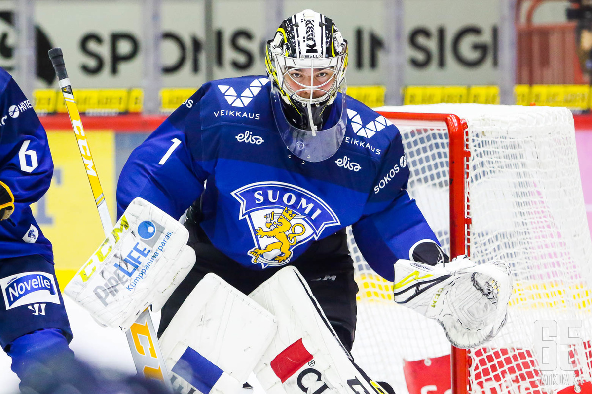 Justus Annunen pelasi Suomen maalilla tappiosta huolimatta vahvan ottelun.