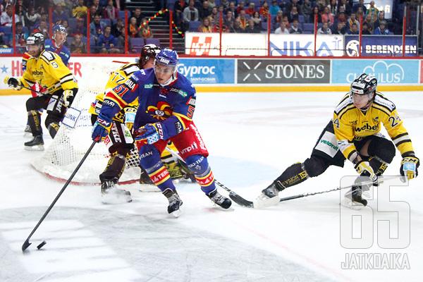 Sarjajohtaja SaiPa väänsi voiton Jokereista - 25.09.2012 - Jokerit - SaiPa - LIIGA ...