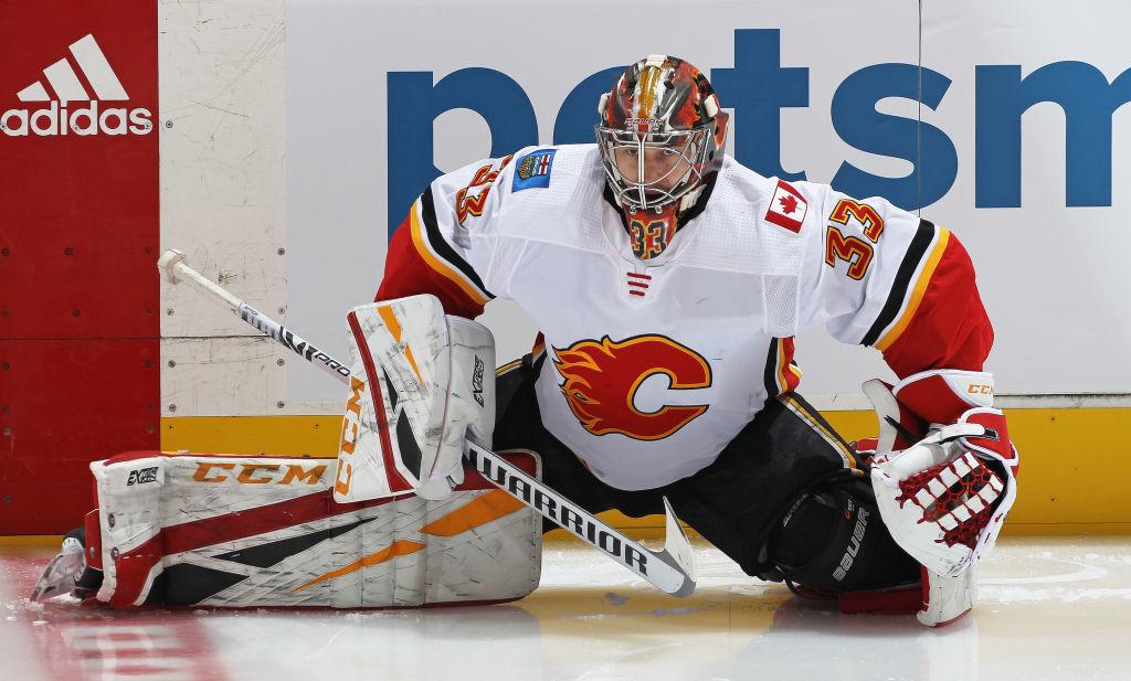David Rittich on antanut Calgary Flamesille mahdollisuuden voittaa.