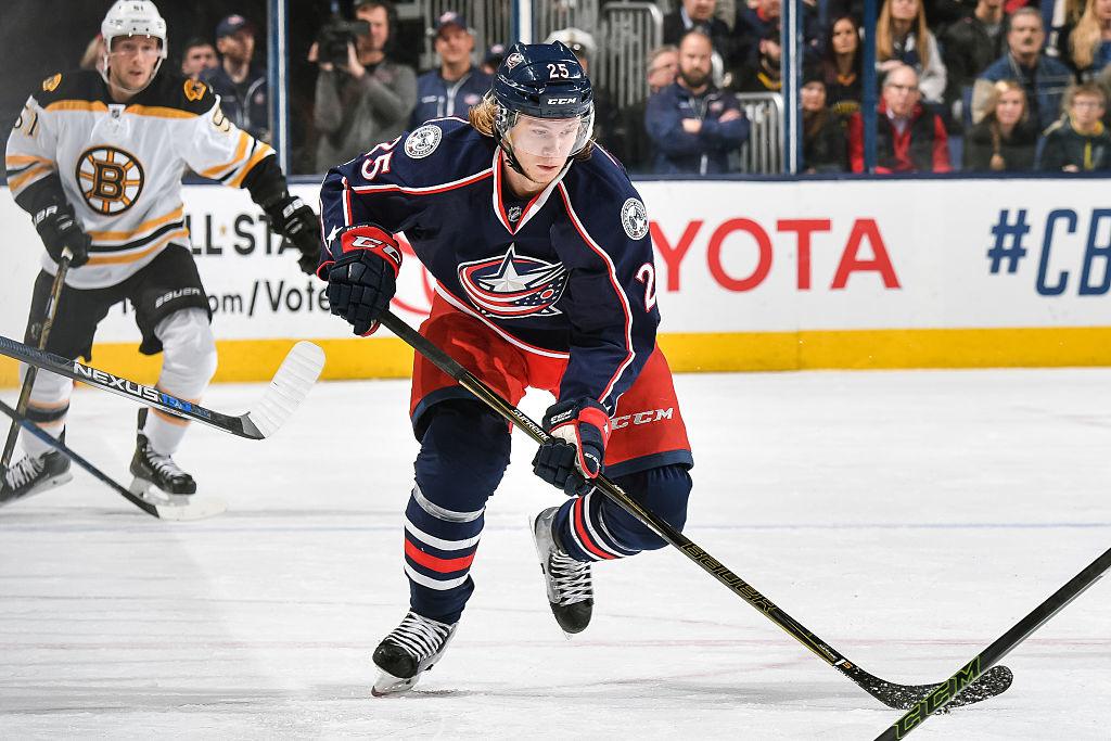 Karlsson teki NHL-läpimurtonsa Columbus Blue Jacketsin paidassa.
