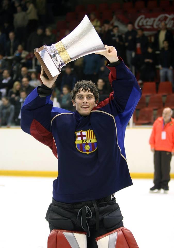 Alcaine voitti Espanjan mestaruuden FC Barcelonassa.