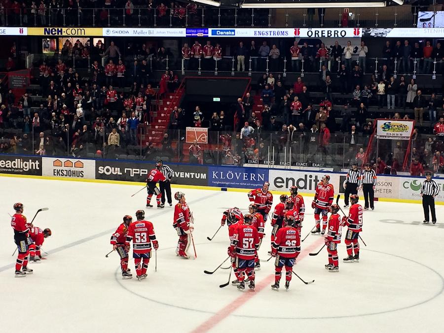 Lauantain peli päättyi Örebron tärkeään kotivoittoon.