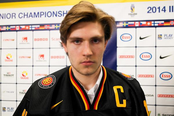 Draisaitl Saksan kapteenina nuorten MM-kisoissa.