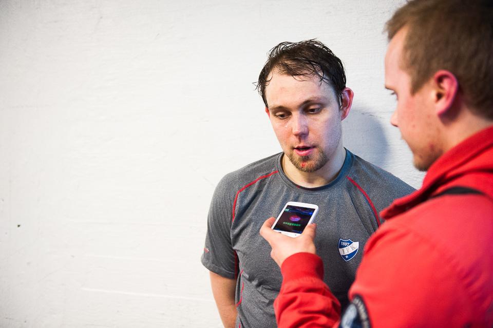 Arttu Luttinen tunsi 38 minuutin peliajan jaloissaa ottelun jälkeen.