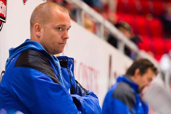 Joni Petrell oli samassa valmennusryhmässä Mikael Kotkaniemen kanssa jo HCK:n joukkueessa.