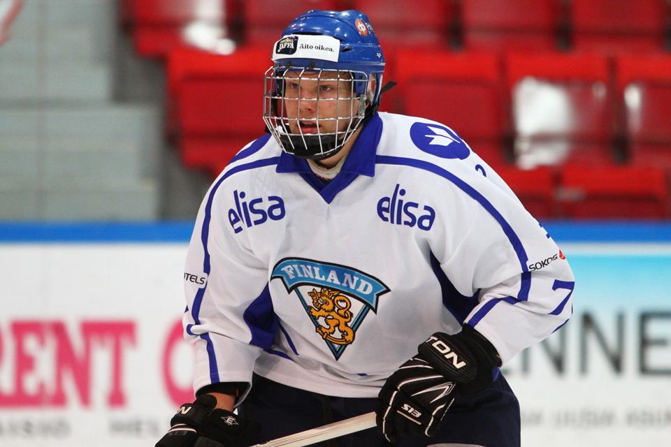 Lupaava, nuori häkkipää pelasi vuoden 2014 alle 18-vuotiaiden kisoissa.