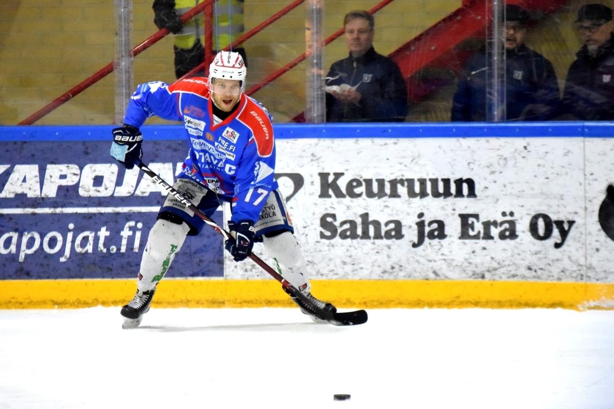 Markus Jokinen teki ottelun molemmat maalit.