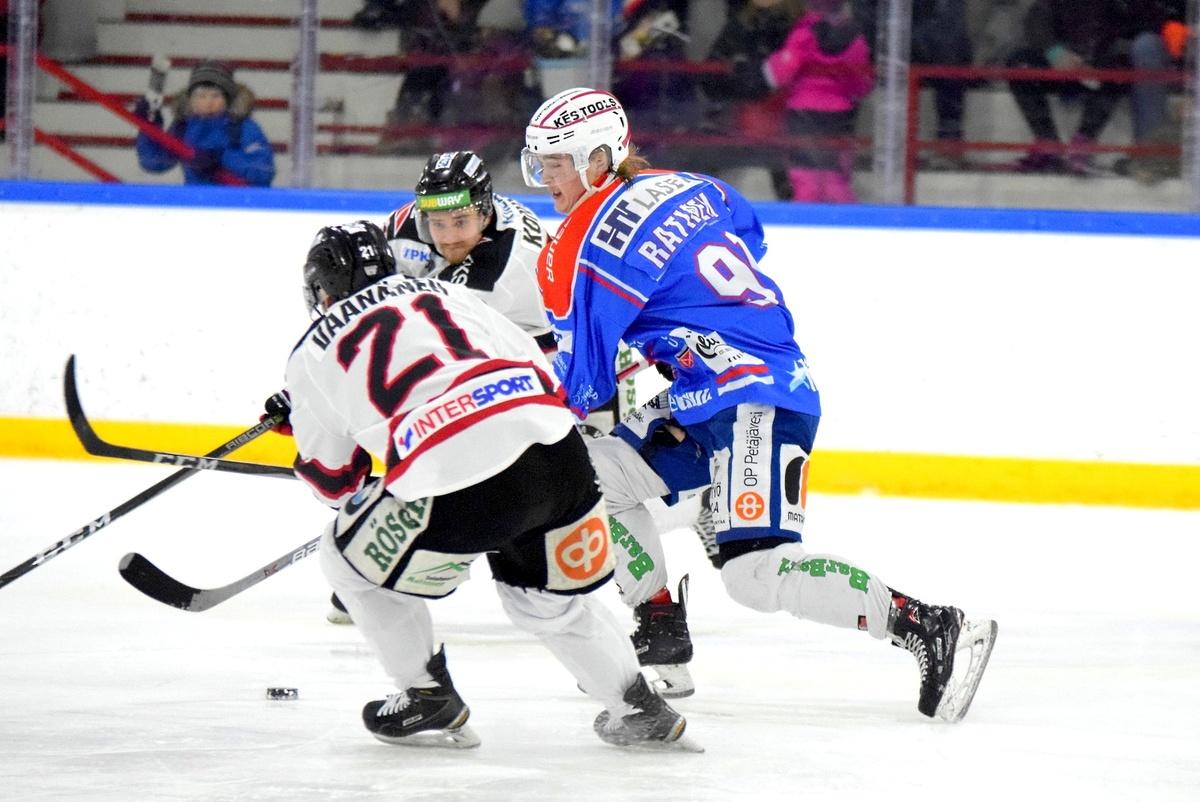 Samuli Ratinen oli vaikea pideltävä Jokipoikien puolustukselle.