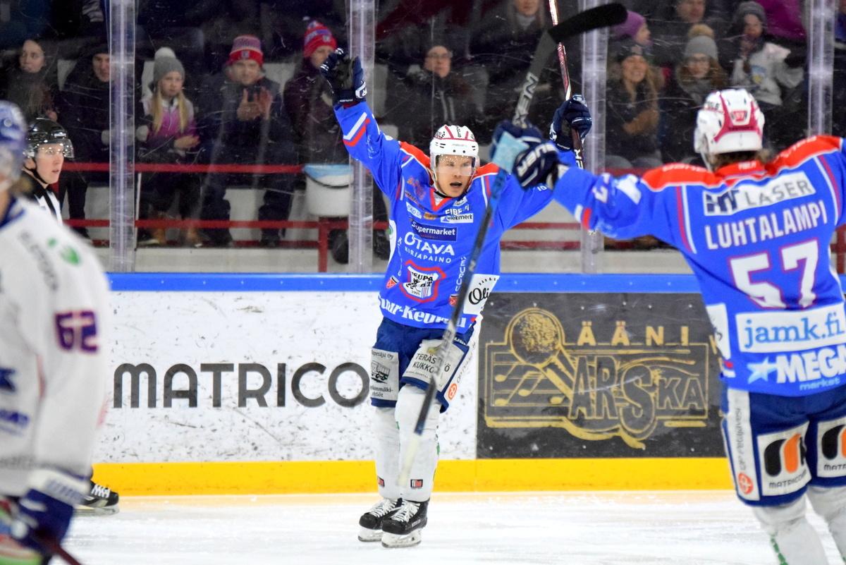 Ville Paalanen iski ottelun voittomaalin.