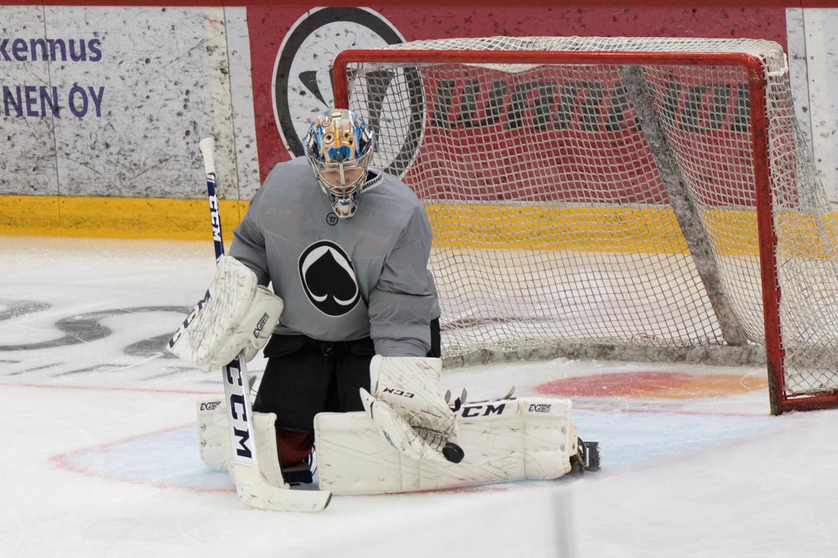Daniil Tarasov on ollut hyvässä vireessä myös harjoituksissa.