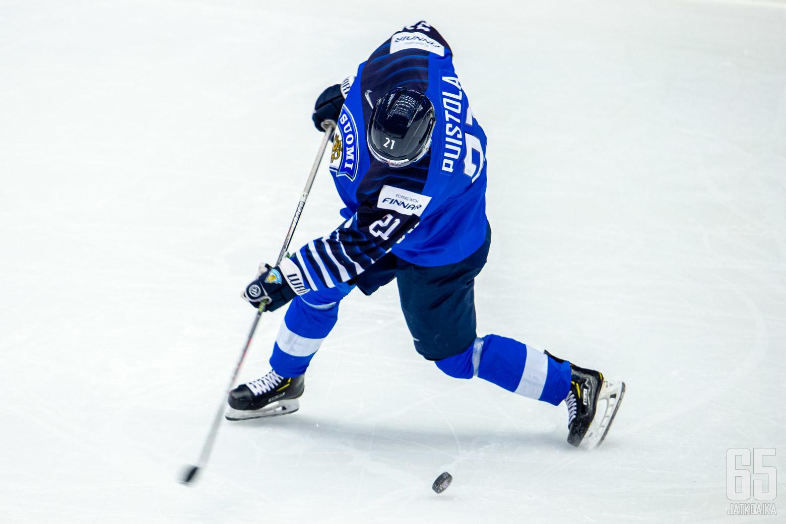 Suomi - USA, puolivälierä, Nuorten MM-kisat 2.1.2020, Werk Areena, Trinec. (Kuva: Jari Mäki-Kuutti)