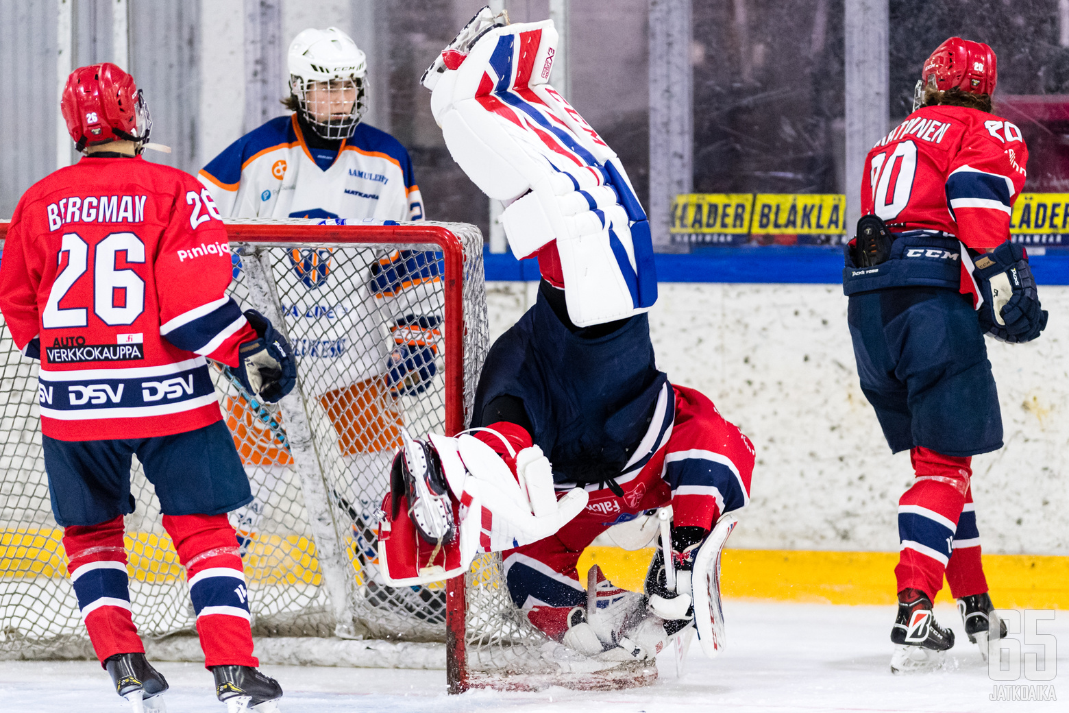 HIFK B:n Jani Lampinen (34) B-nuorten SM-alkusarjan ottelussa HIFK - Tappara, Elisa Areenalla, 16. marraskuuta 2019.