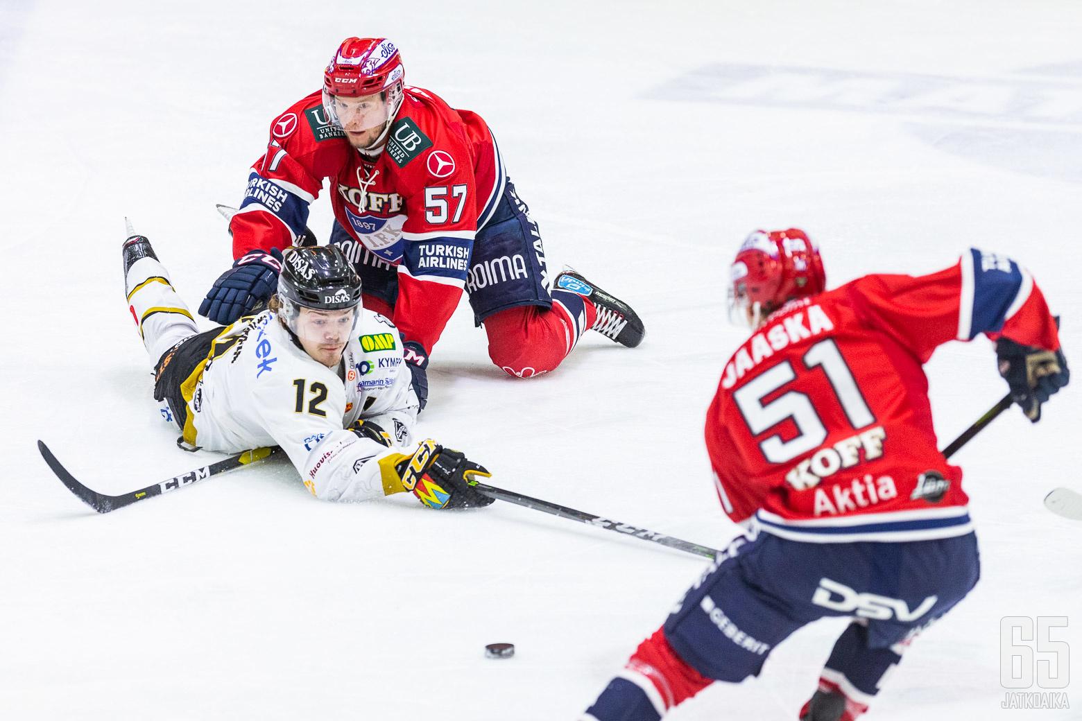 Ville Leskinen taisteli viimeseen asti Johan Motinia vastaan.