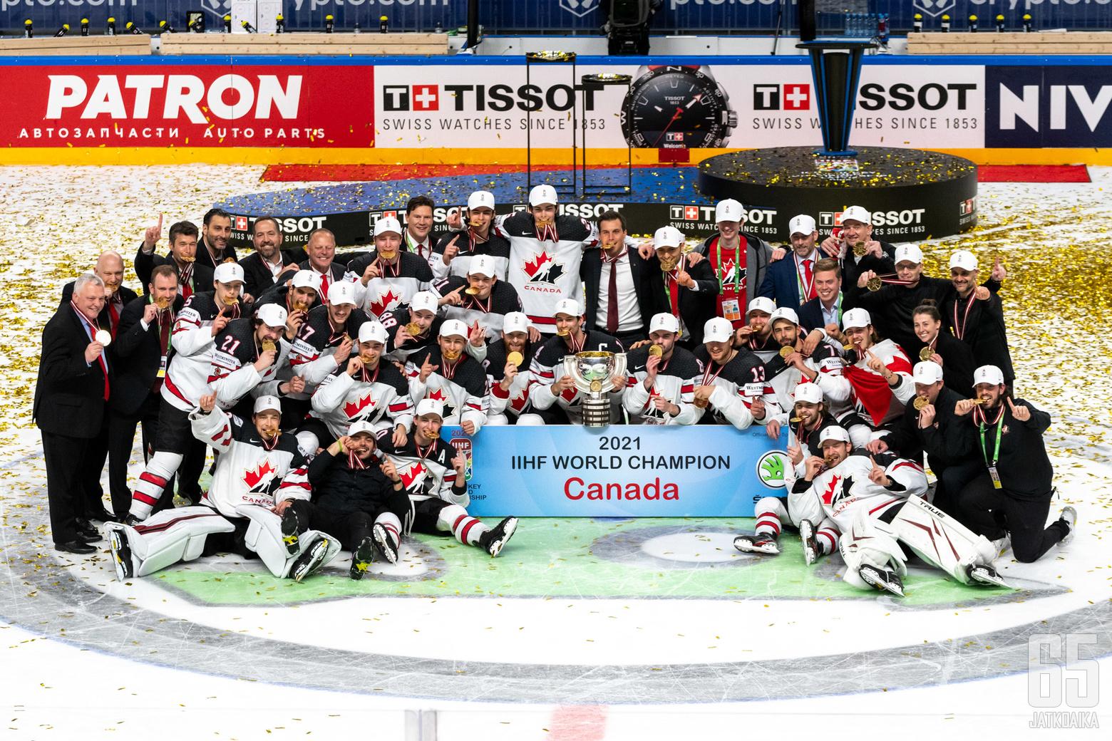 Jääkiekon maailmanmestari 2021, Kanada.