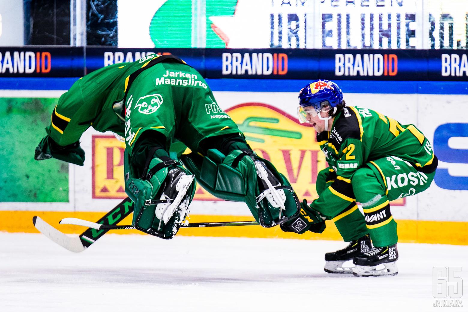 Liigan runkosarjan ottelussa Ilves - KooKoo, Hakametsän jäähallissa Tampereella 29.11.2019
