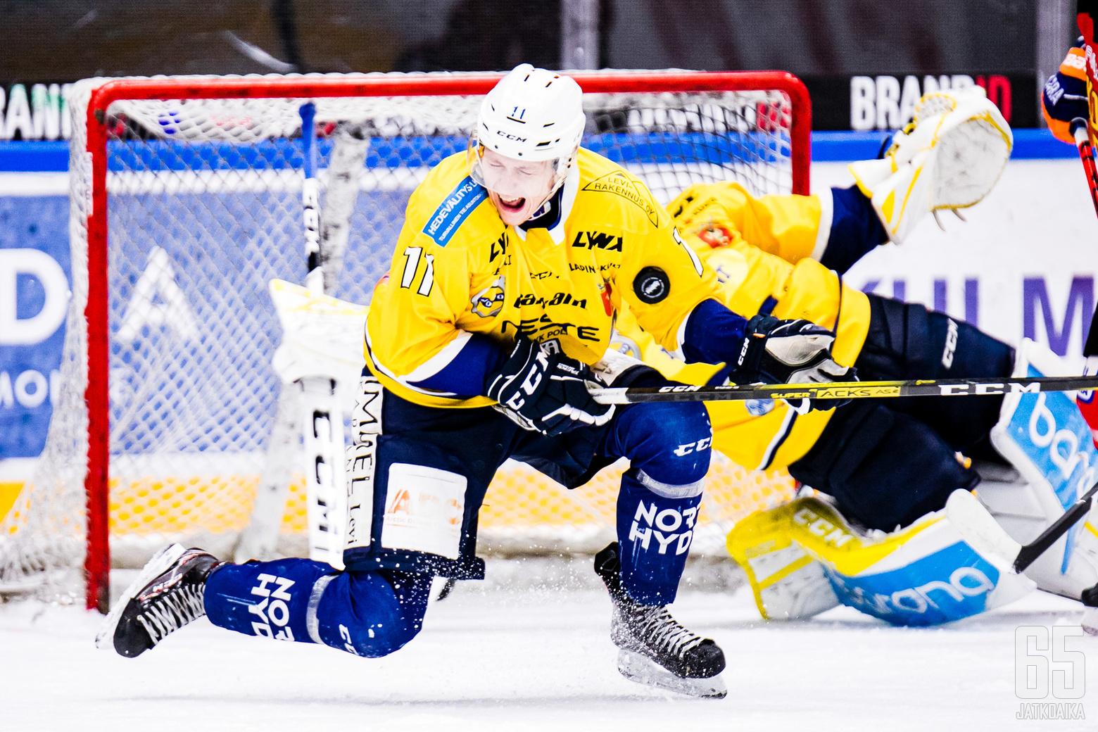 KOOVEE - RoKi, Mestiksen runkosarjan ottelussa Hakametsän jäähallissa Tampereella 13.10.2019