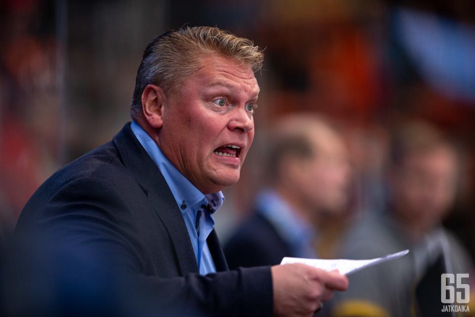 Pekka Virran luotsaama Rauman Lukko on ollut vahvassa vireessä.