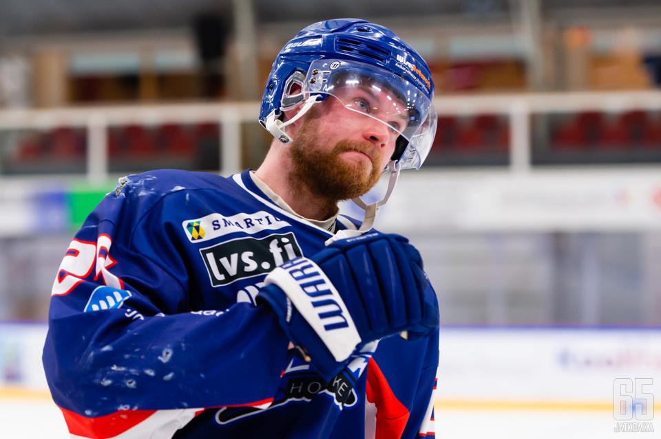 Sami Laakso oli jo vähällä päättää uransa, mutta kapteeni lähti vielä mukaan nousutalkoisiin.