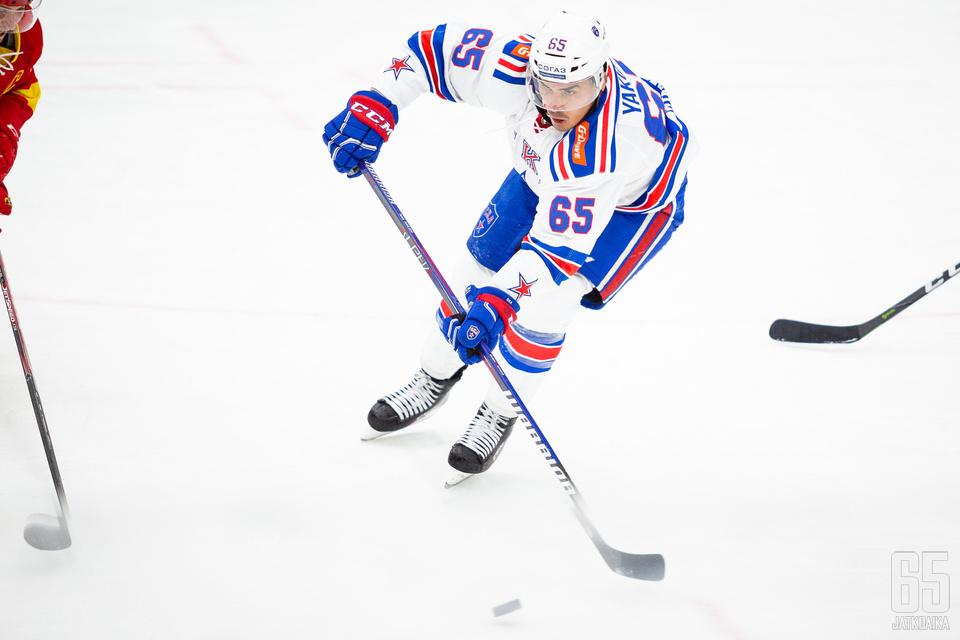 Jakupov kiekkoili viime kaudella SKA:ssa.