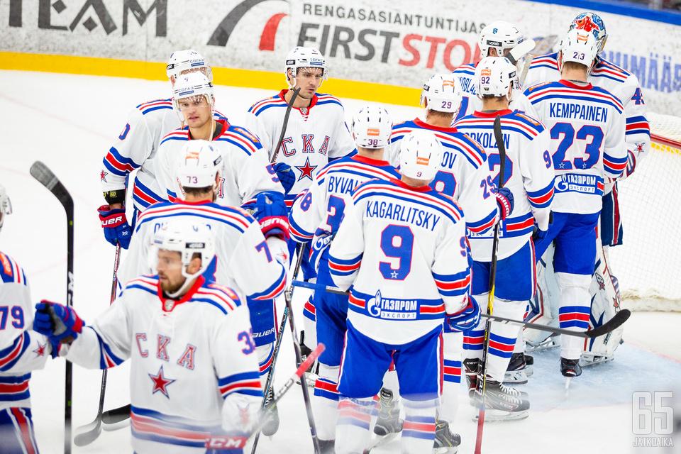 SKA sai juhlia voittoa Torpedoa vastaan.