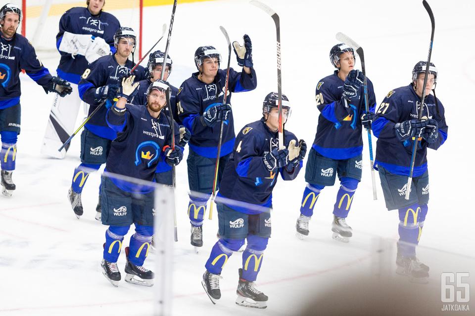 Kiekko-Espoo on ollut kotonaan lyömätön.