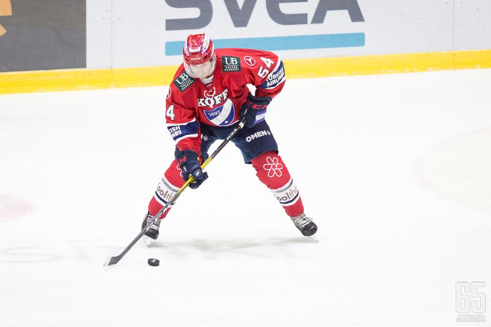 Sebastian Dyk oli perjantaina vaisun IFK:n parhaimmistoa Pelicansia vastaan.
