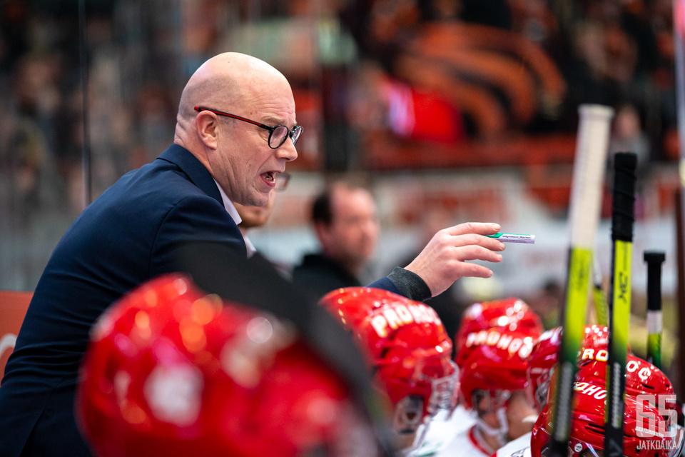 Risto Dufva on valmis palaamaan jääkiekkoarkeen.
