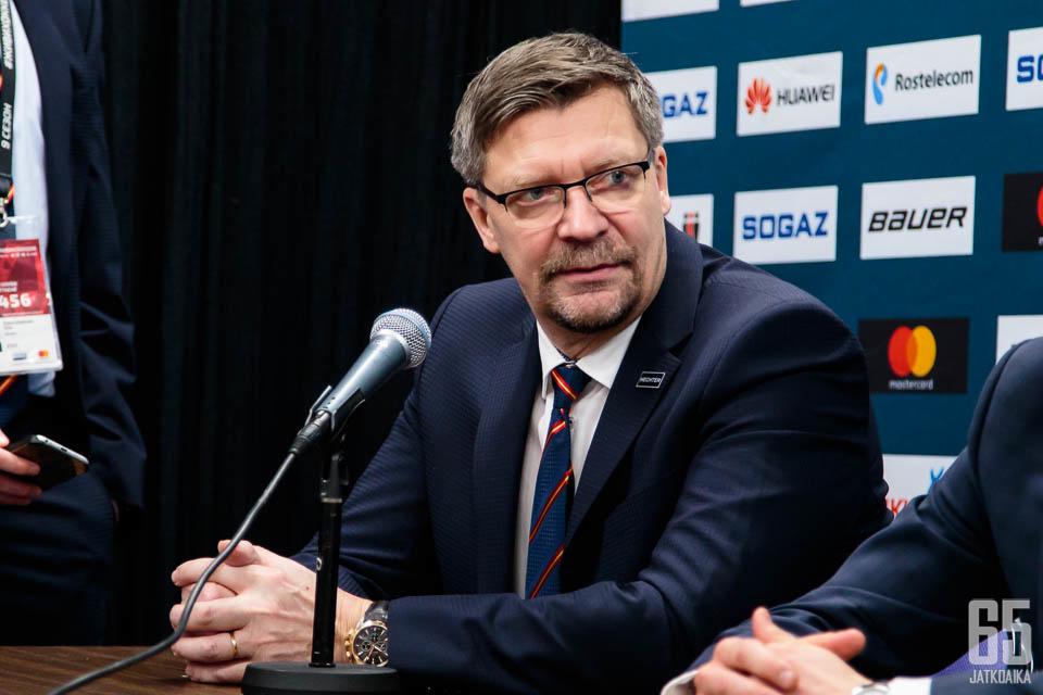 Jalosen KHL-taival päättyy kuluvaan kauteen.