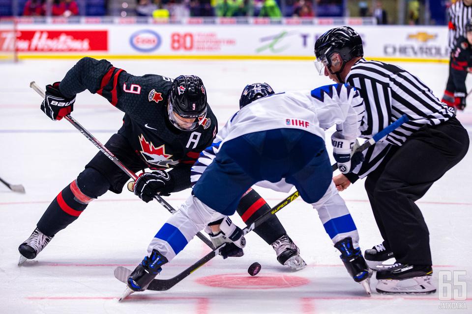 Suomi ja Kanada vääntävät ensi vuonna samassa alkulohkossa.