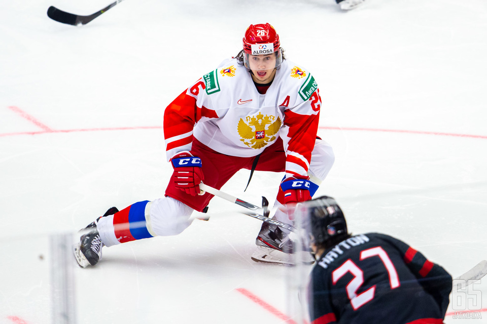 Aleksandr Romanov on Ruotsin turnauksen kiinnostavimpia pelaajia.