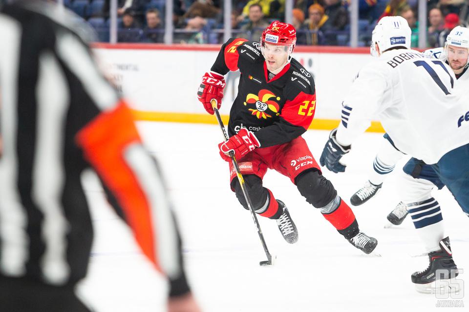 KHL:n taakseen jättävä Mika Niemi haluaa Ässissä kiekollisen rooliin.