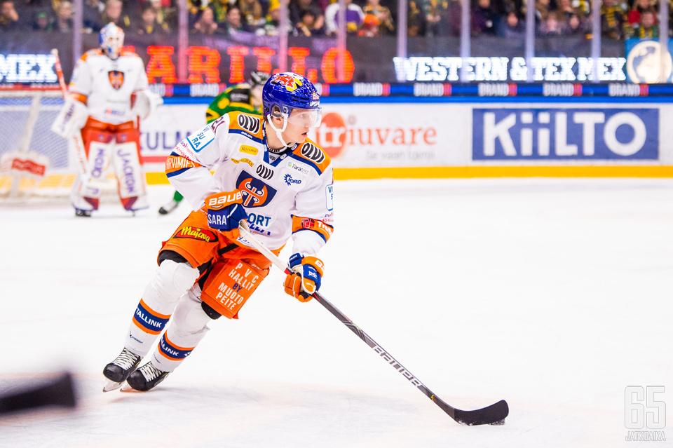 Patrik Puistola pelaa loppukauden KooKoossa.