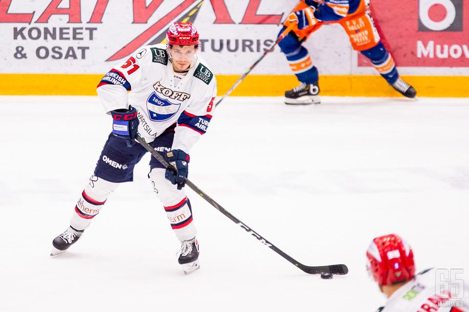 Juha Jääskä pelasi vuoden 2020 toisen ottelunsa.