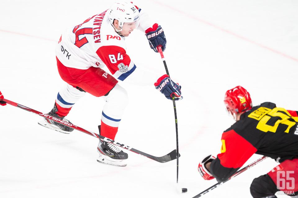 Lokomotiv oli maanantaina vahvempi Helsingissä.