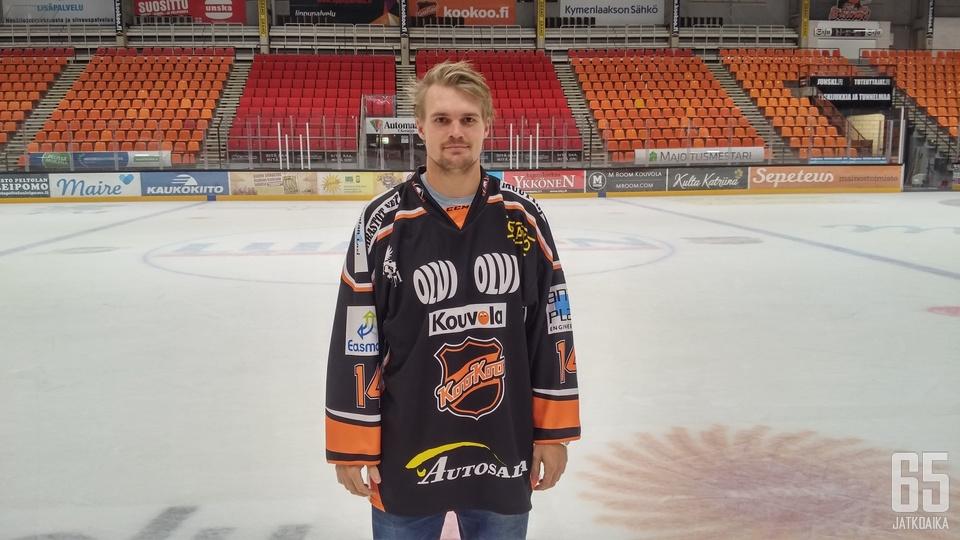 KooKoo on Eklundille uran kolmas Liiga-seura.