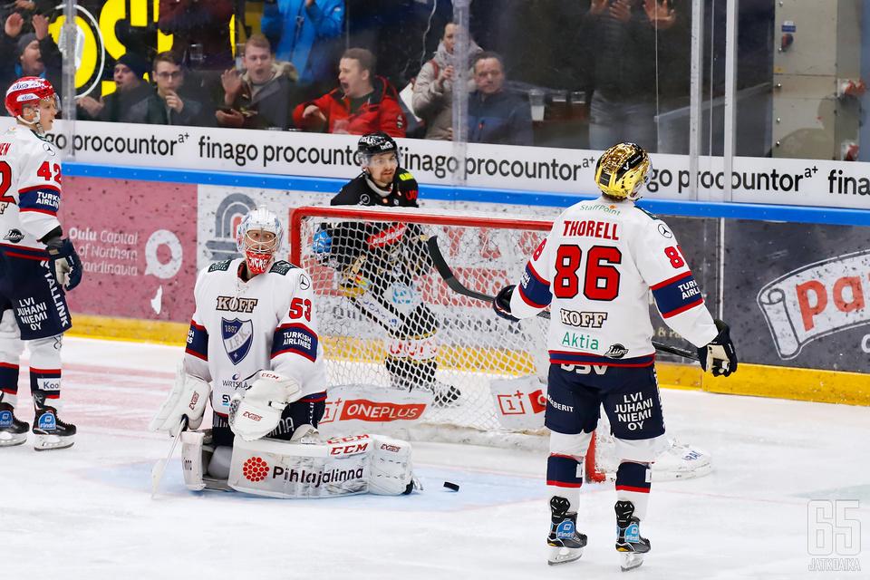 Kärpät kyykytti HIFK:ta edellisessä kohtaamisessa.