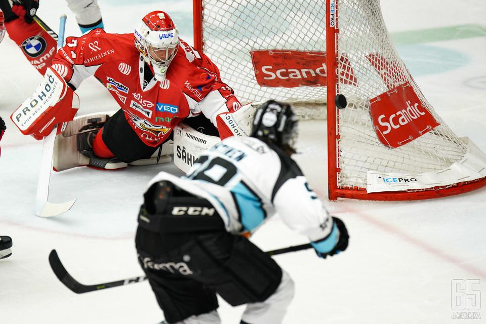 Sami Aittokallio oli Sportin sankari Lahdessa.