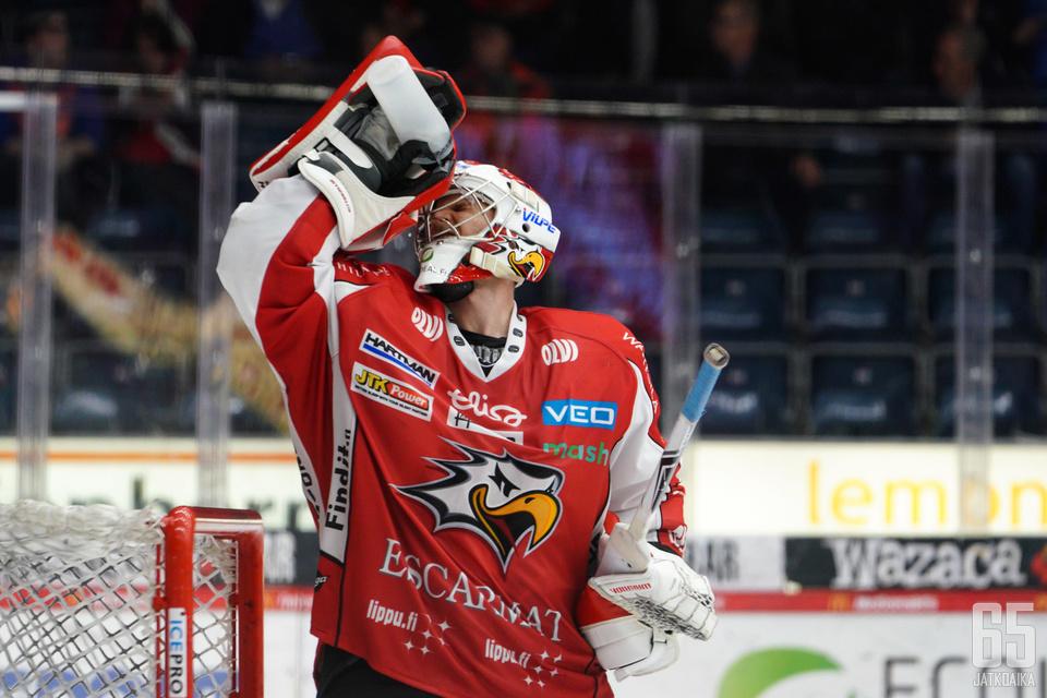 Sami Aittokallio takasi kolme pistettä Sportille.
