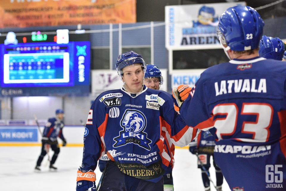 Otto Mäkisen alkukausi on sujunut pääasiassa LeKin paidassa.
