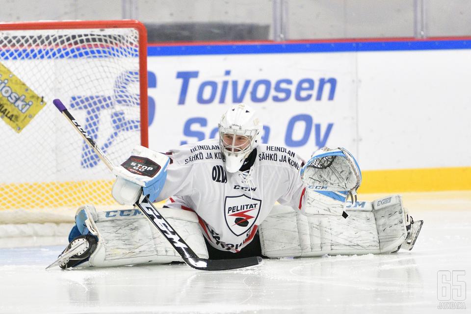 Sami Suni pelasi erinomaisen kevätpuoliskon Peliittojen maalilla.