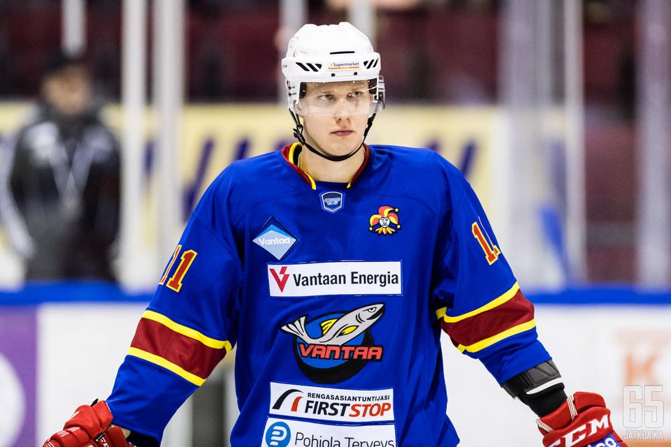 Hyökkääjä Sami Salminen siirtyy TUTOon.