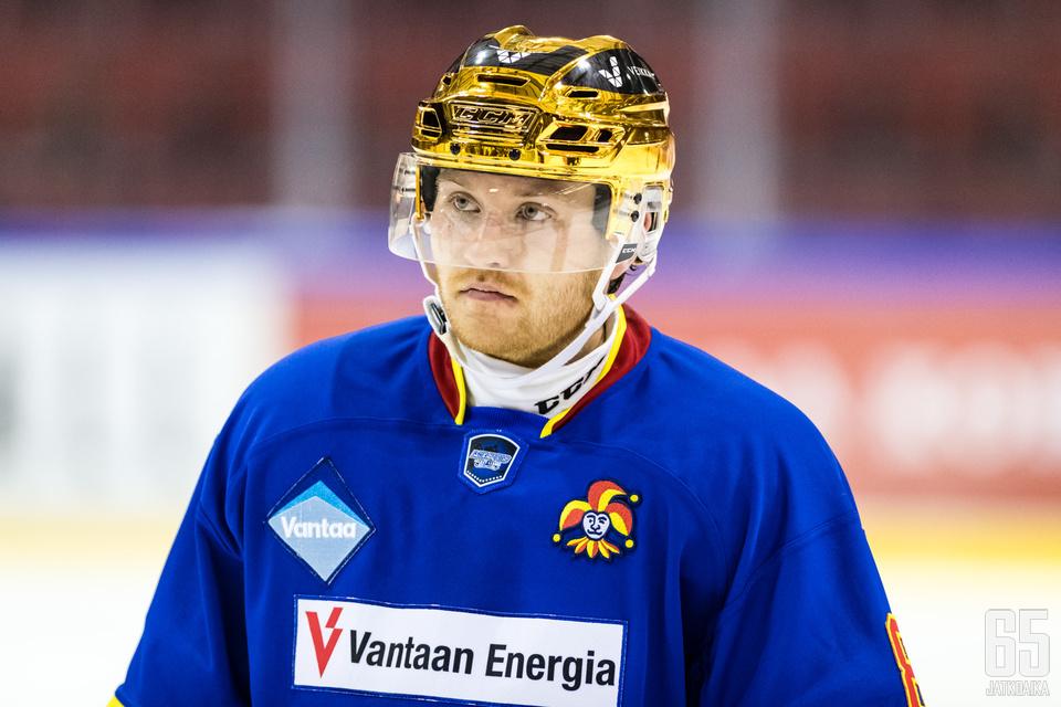 Miro-Pekka Saarelainen tähyilee ammattilaiseksi.
