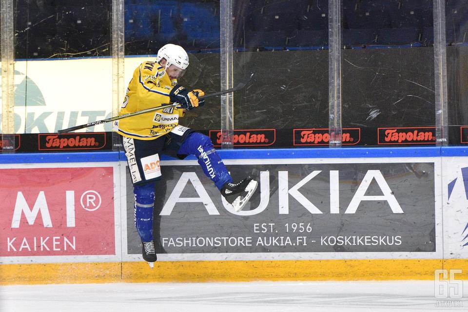 Rahikainen kiekkoili viime kaudella RoKissa.