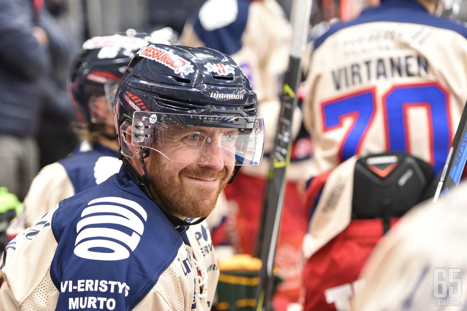 Kurtis McLean iloitsee paluusta Suomen jäille vielä kerran.