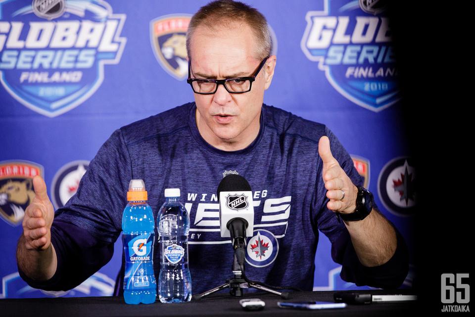 Winnipeg Jetsin päävalmentaja Paul Maurice koki Global Series -pelit hyvin erilaisina verrattuna tavallisiin NHL-peleihin.