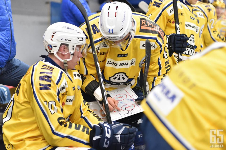 RoKin taktiikat purivat etelän kiertueen toisessa pelissä Heinolassa.