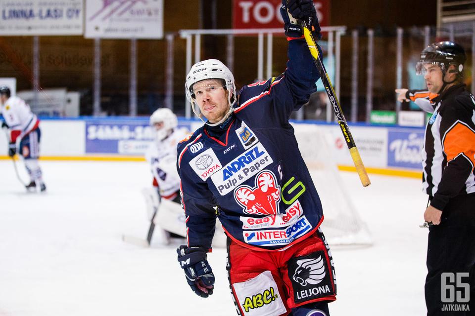 Forsström jatkaa SaPKon riveissä.