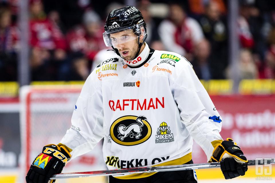 Osalan peli jäi puolitiehen Tampereen puolivälieräavauksessa.